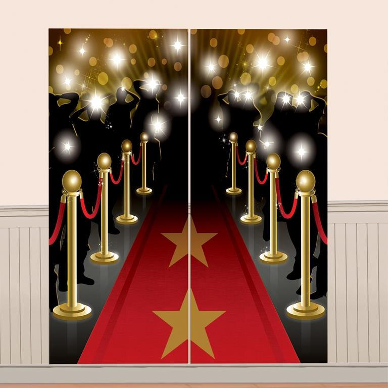 Hollywood Giant Scene Setter Party Decoration