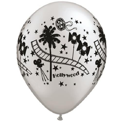 Hollywood 25pk Helium Quality Latex Balloons