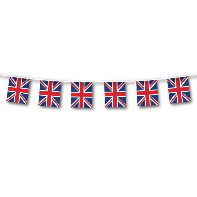 Union Jack Square Flag Bunting | Banner | Decoration