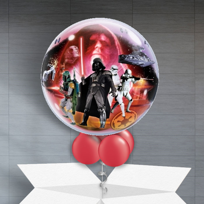 "Star Wars 22"" Bubble Balloon in a Box"