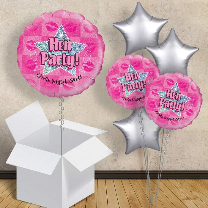 "Hen Party Girls Night Out 18"" Balloon in a Box"