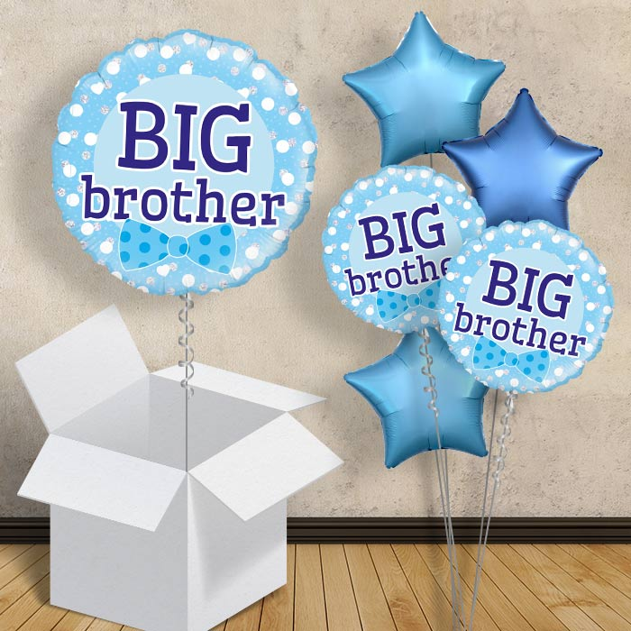 "Big Brother | Baby Shower 18"" Balloon in a Box"