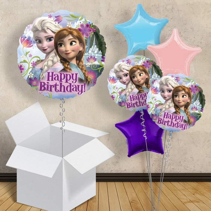 "Disney Frozen Happy Birthday 18"" Balloon in a Box"