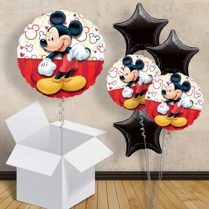 "Mickey Mouse Red 18"" Balloon in a Box"