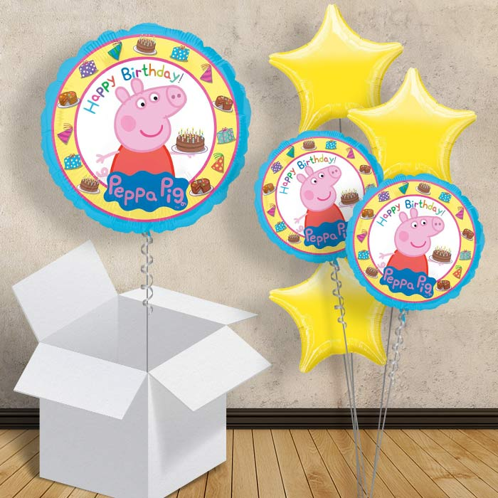 "Peppa Pig Happy Birthday 18"" Balloon in a Box"