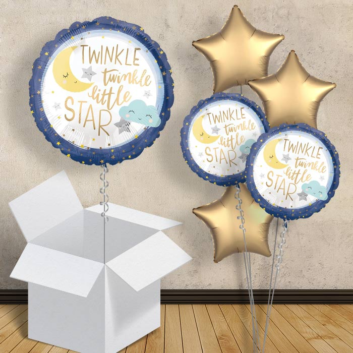 "Twinkle Twinkle Little Star 18"" Balloon in a Box"