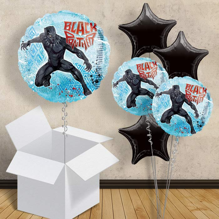 "Marvel Avengers Black Panther 18"" Balloon in a Box"