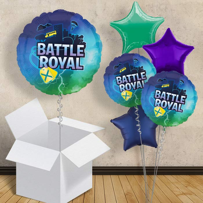 "Battle Royal | Gaming Party 18"" Balloon in a Box"