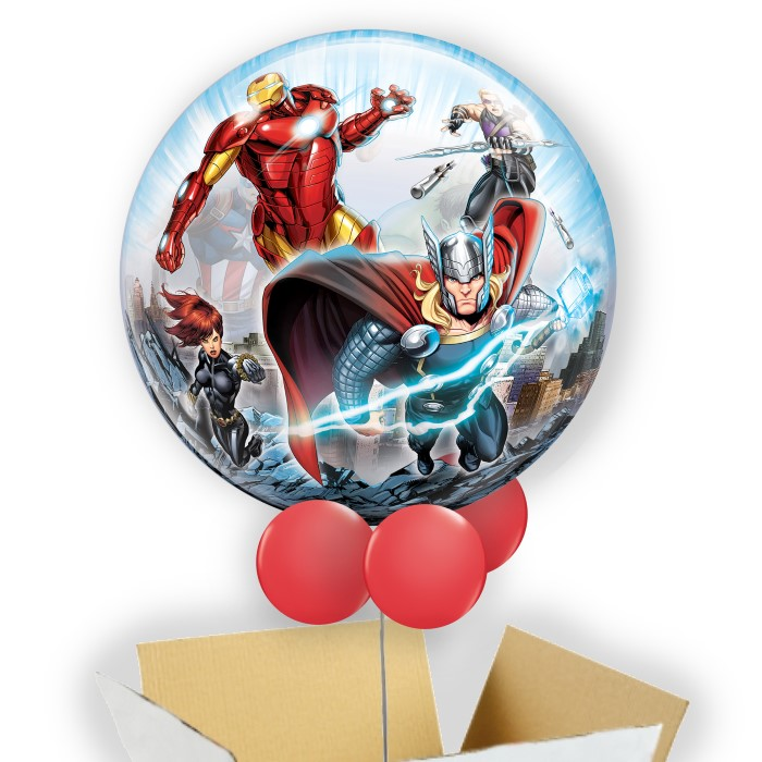 "Marvel Avengers 22"" Bubble Balloon in a Box"