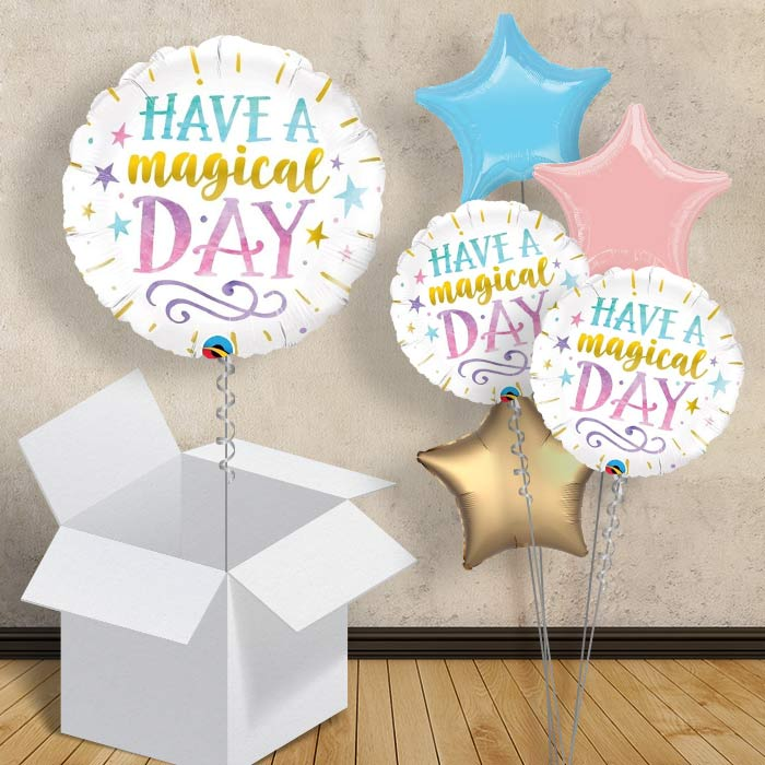 "Have a Magical Day 18"" Balloon in a Box"