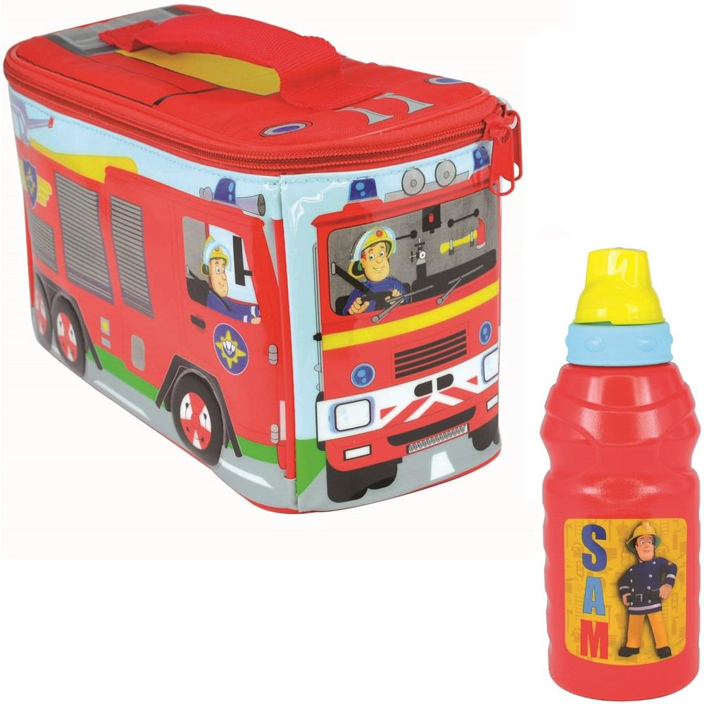 Fireman Sam Insulated Lunch Bag and Sport Bottle Kit