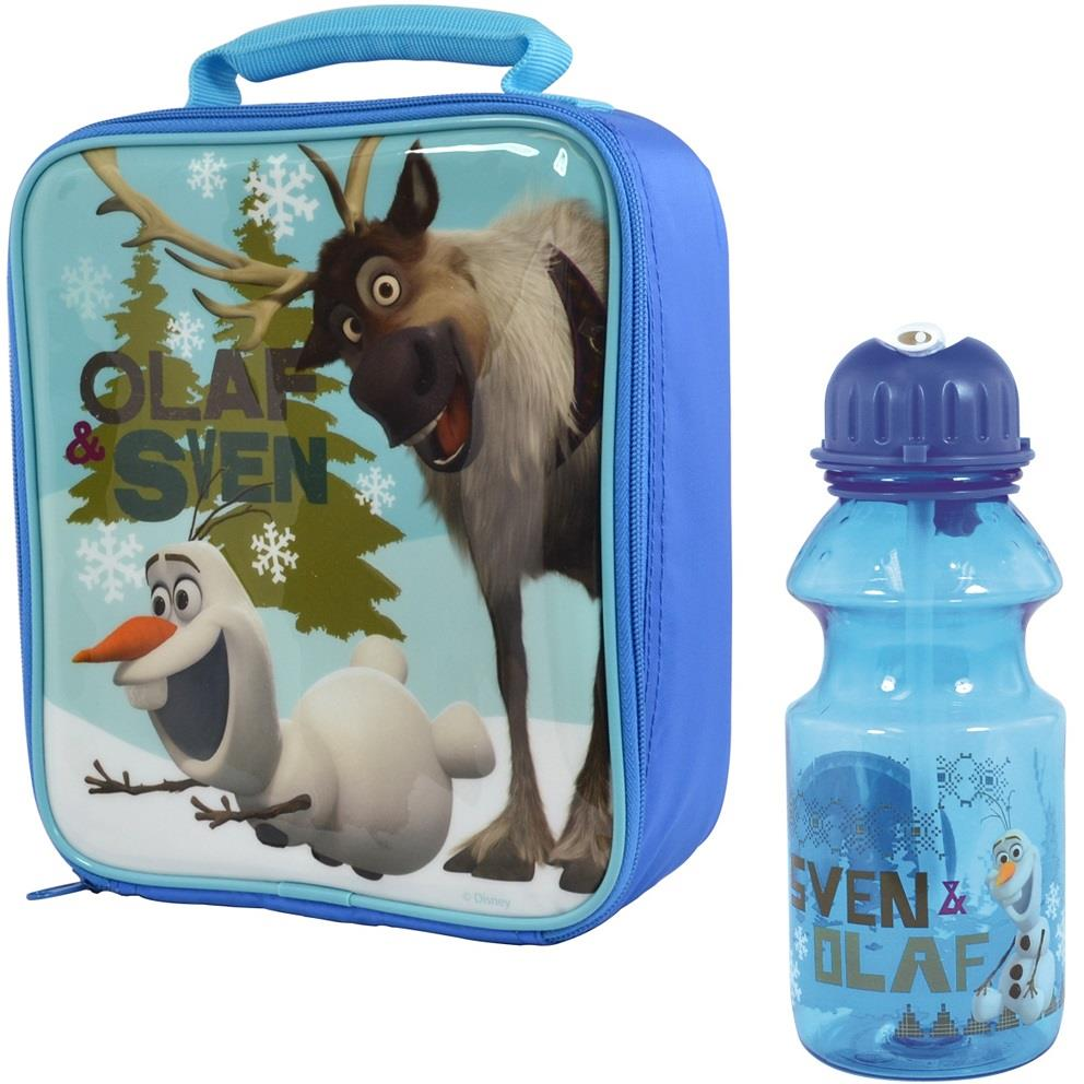 Frozen Olaf Insulated Lunch Bag and Tritan Bottle Kit