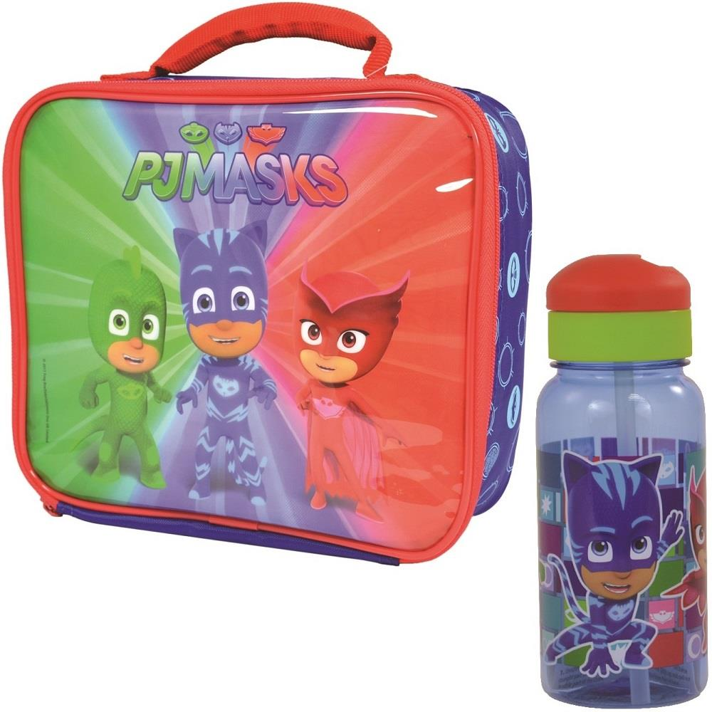 PJ Masks Insulated Lunch Bag and Twist Bottle Kit