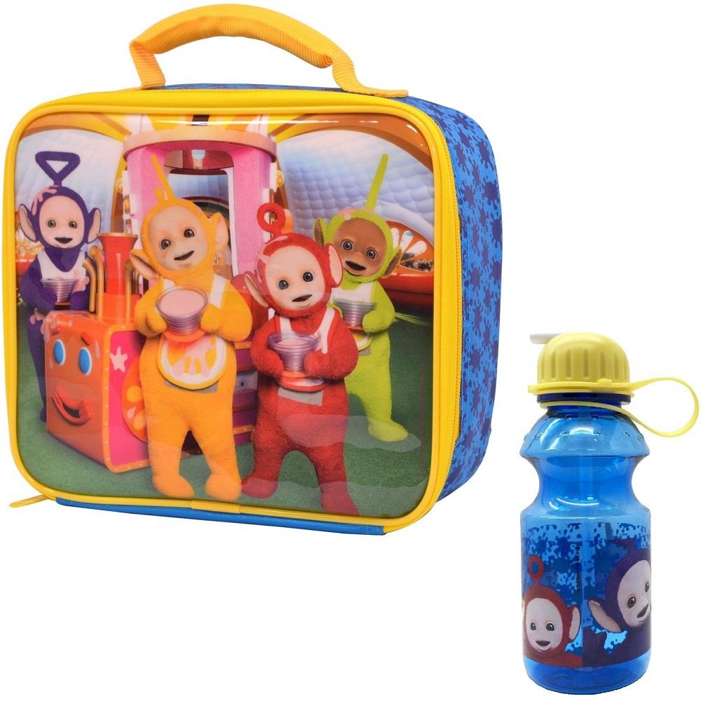 Teletubbies Insulated Lunch Bag and Tritan Drinks Bottle Kit