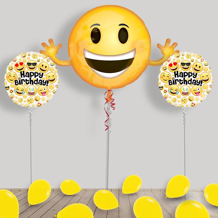 Event Party Supplies LOL Emoji Birthday Bundle Balloon