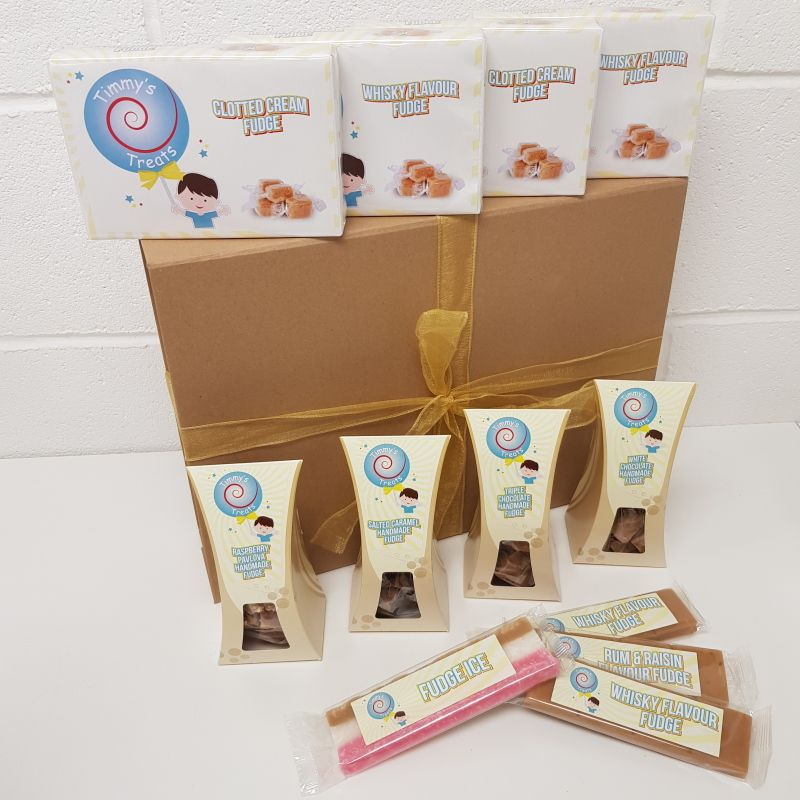 The Fudge Selection Large Hamper Gift Box by Timmy's Treats