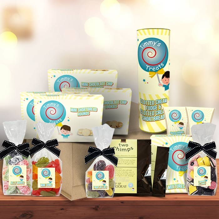 The Coffee with Treats Large Luxury | Sharing Hamper Gift Box by Timmy's Treats