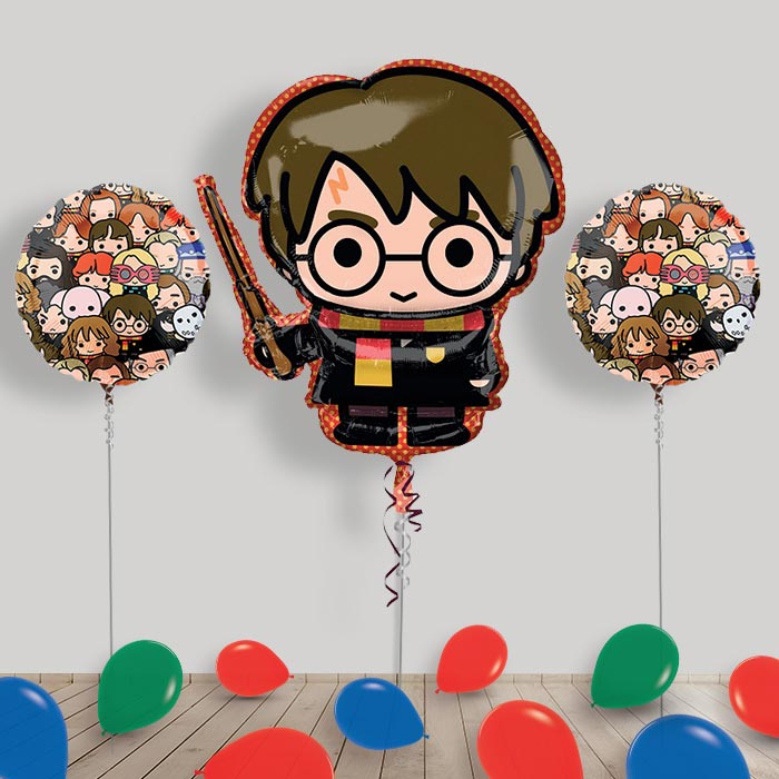 Inflated Harry Potter Helium Balloon Package in a Box