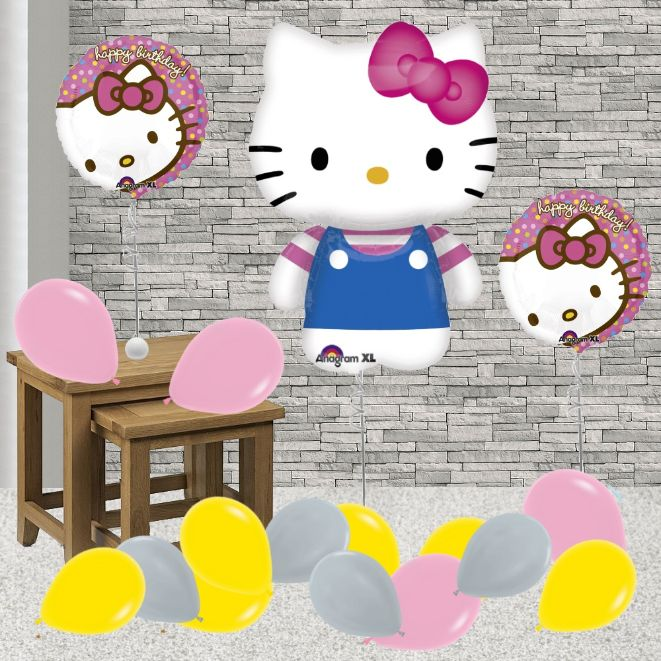 be609ac4b Inflated Hello Kitty Helium Balloon Package in a Box - Buy Online
