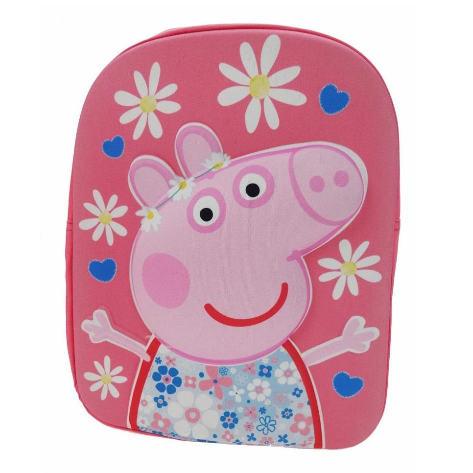Peppa Pig HSH 3D Backpack | Rucksack | School Bag