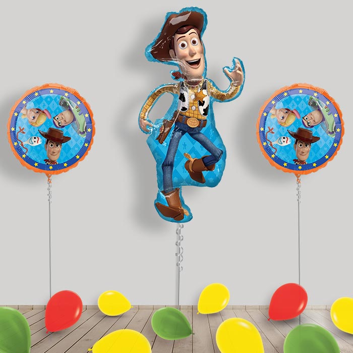 Inflated Toy Story Helium Balloon Package in a Box