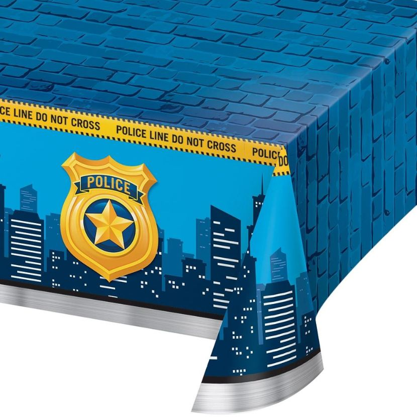 Police Party Tablecover | Tablecloth