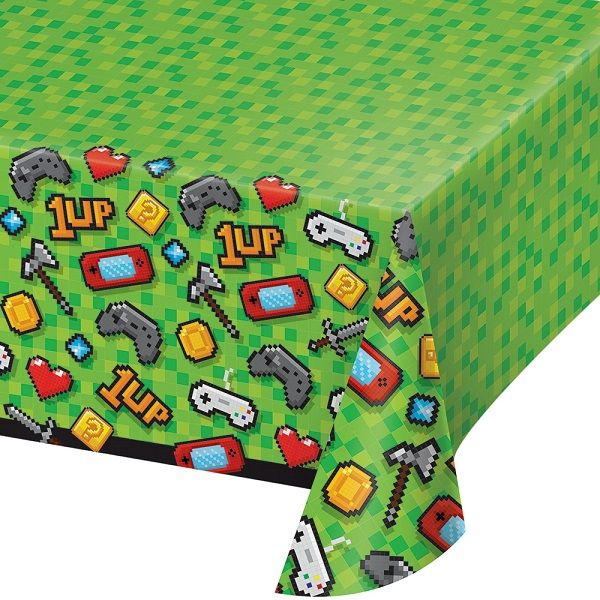 Gaming | Game On Party Tablecover | Tablecloth