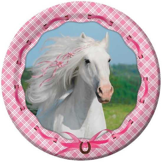 Heart My Horse Party Plates