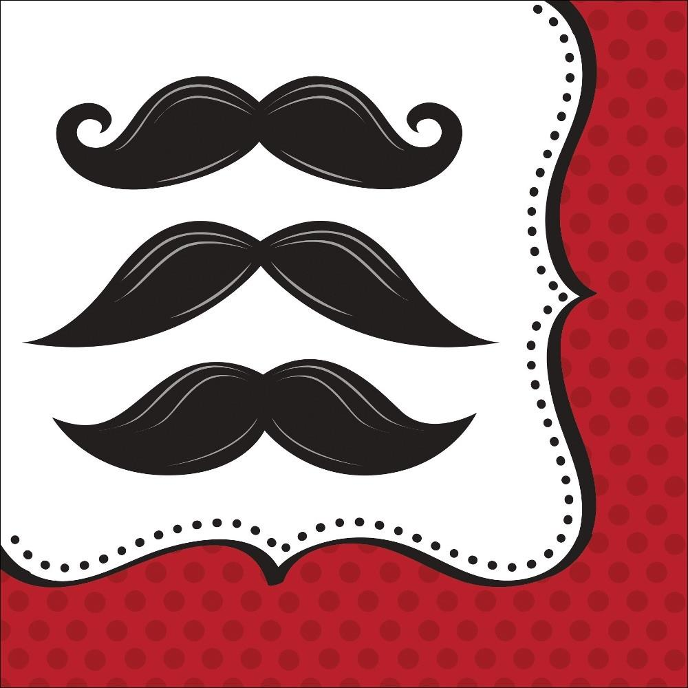 Moustache Party Napkins | Serviettes