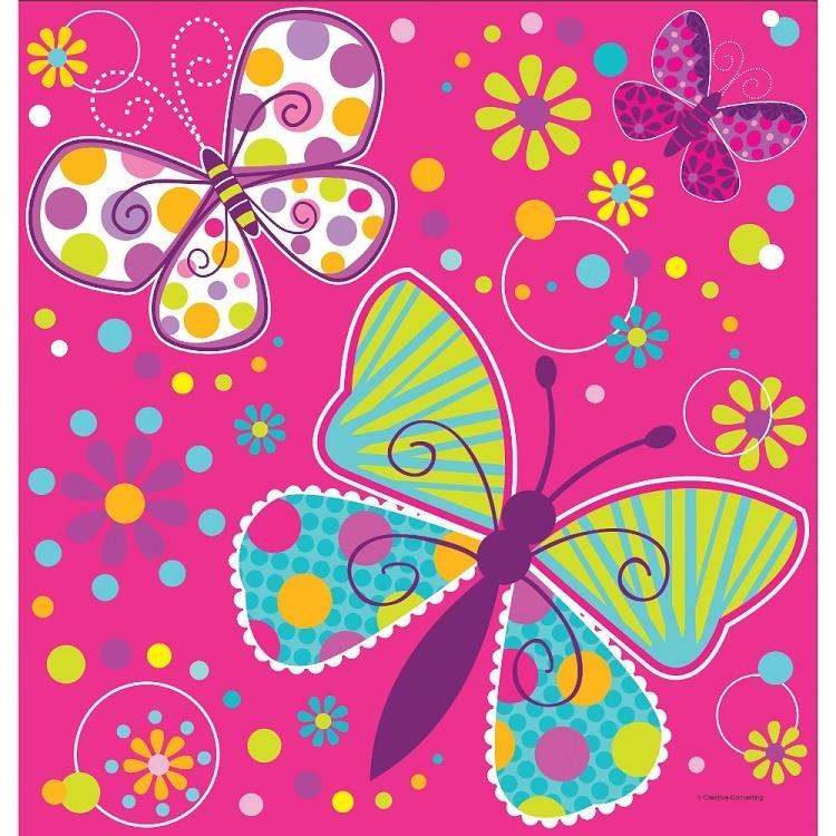 Butterfly Sparkle Party Tablecover | Tablecloth