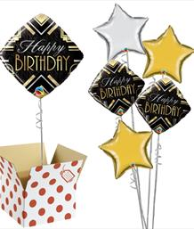 Adult Birthday Balloon in a Box | Party Save Smile