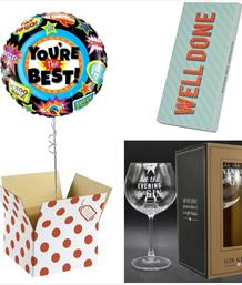 Corporate Balloon and Gift Bundles - Party Save Smile
