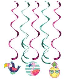 Swirl and String Decorations - Party Save Smile