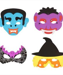 Halloween Face Masks | Party Save Smile