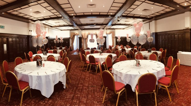 Disney Inspired 18th Birthday Bubble Balloons at Bosworth Hall Hotel and Spa, Market Bosworth from Party Save Smile. Specialists in Party Supplies for children's birthdays, age milestones and more.