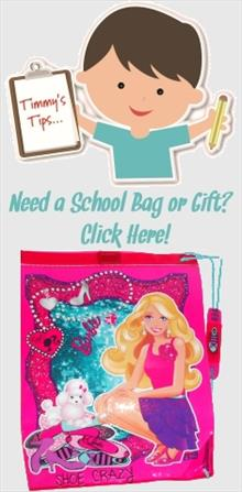 Barbie School Bags and Gifts