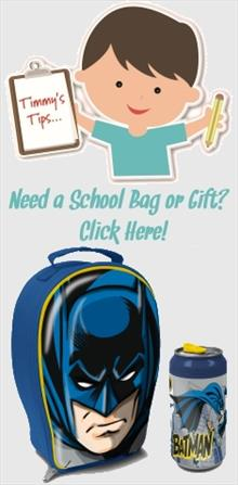 Batman School Bags and Gifts
