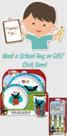 Bing the Rabbit School Bags and Gifts