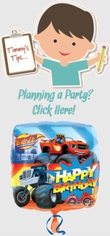 Blaze & the Monster Machines Party