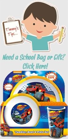 Blaze and the Monster Machines School Bags and Gifts