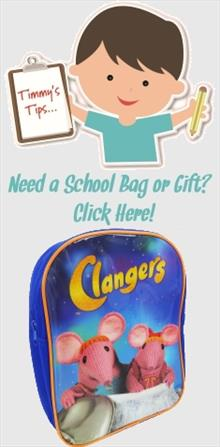 Clangers School Bags and Gifts
