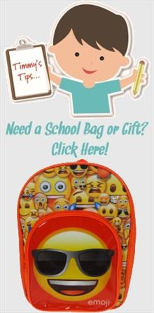 Emoji School Bags and Gifts