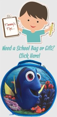 Finding Dory School Bags and Gifts
