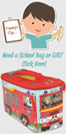 Fireman Sam School Bags and Gifts