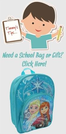 Disney Frozen School Bags and Gifts
