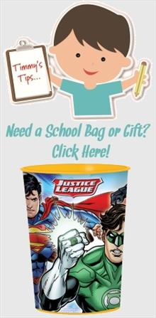 Justice League School Bags and Gifts