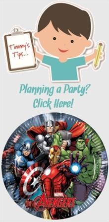 Marvel Avengers Party