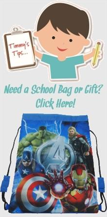 Marvel Avengers School Bags and Gifts