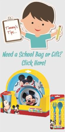 Mickey Mouse School Bags and Gifts