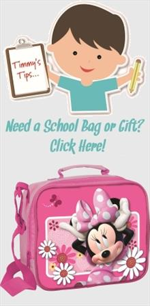 Minnie Mouse School Bags and Gifts